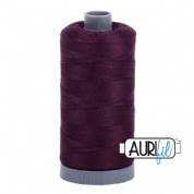 Aurifil 28 Cotton Thread - 1240 (Dark Maroon)